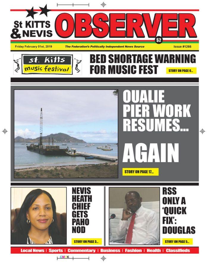 Newspaper cover Feb 1st 2019