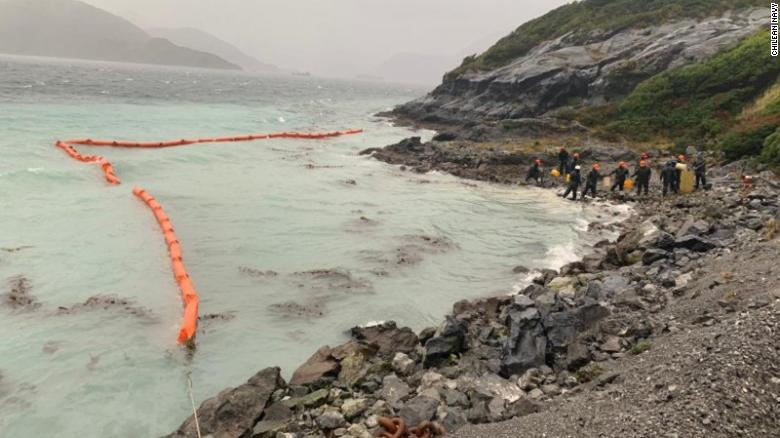 Chilean Navy confirms diesel oil spill in pristine Patagonia
