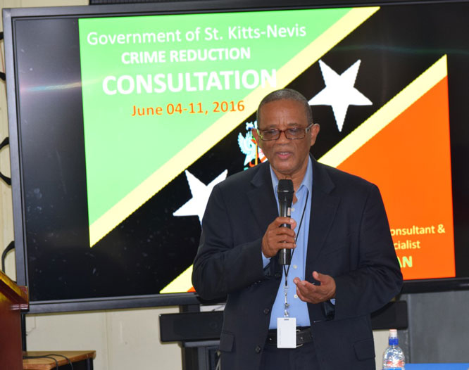 National Stakeholders Explore Strategies To Reduce Crime The St Kitts Nevis Observer