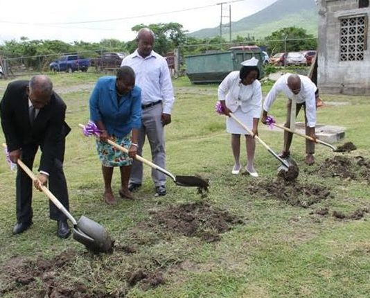 Ground breaking for the construction of Alexandra Hospital upgrade