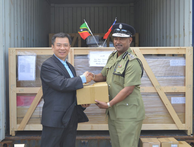 ROC (Taiwan) Donates Spare Parts To Keep Police Mobile Fleet Running