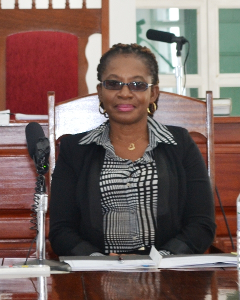 Clerk of the Nevis Island Assembly Myra Williams