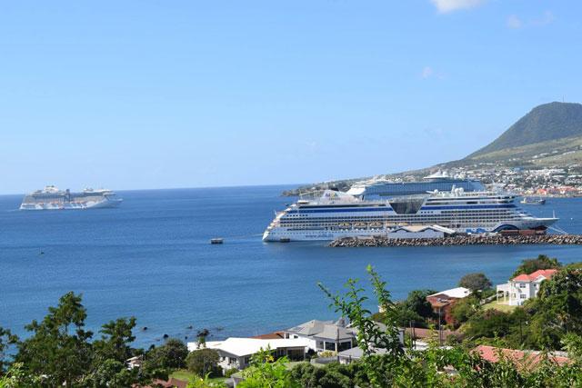 Record Breaking 16 000 Cruise Passengers Visit St Kitts