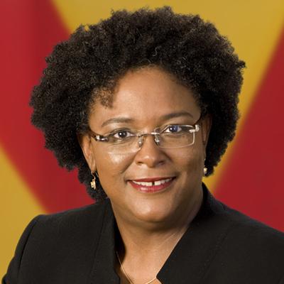 Pm Harris Congratulates Mia Mottley As Barbados First