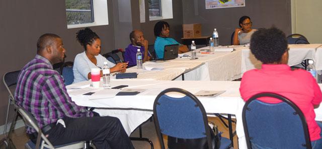 Members of the Steering Committee at the meeting