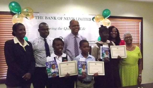 Bank Of Nevis Awards Three Students Sir Simeon Daniels