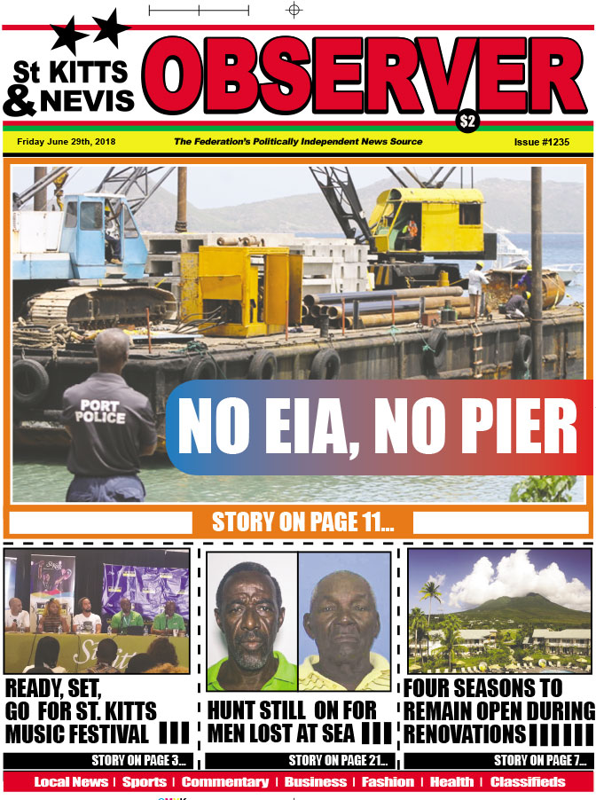 2018-06-29 Observer newspaper cover