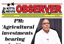 Observer Newspaper Newspaper Cover for 23rd April, 2021