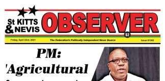 Observer Newspaper Newspaper Cover for 23rd April, 2021
