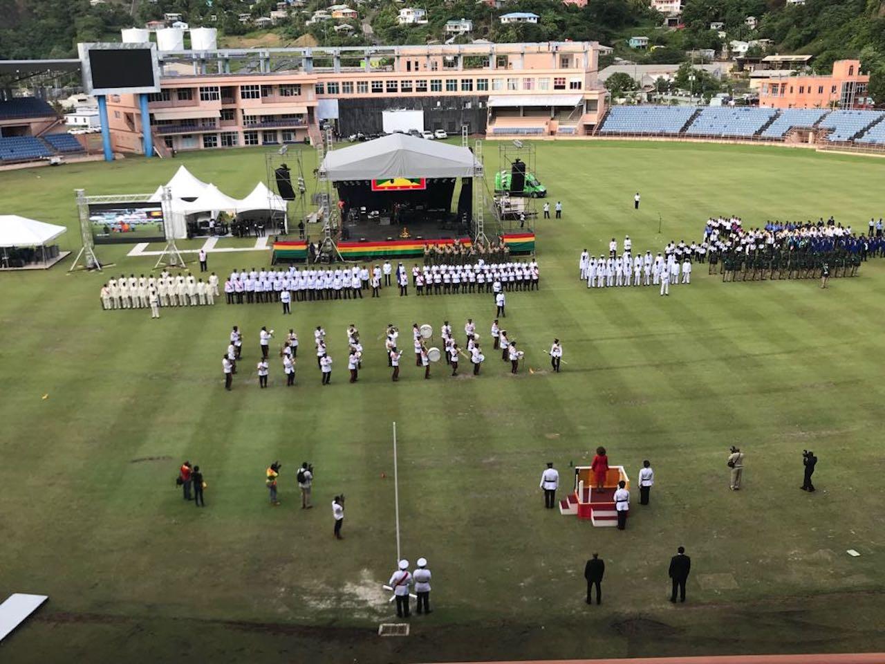 St Kitts Nevis Prime Minister Joins Grenada S 44th