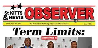 Observer Newspaper Cover for 16th April, 2021