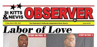 SKN Observer Front page Cover March 26, 2021
