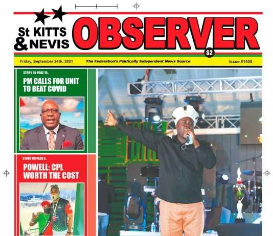 Newspaper Cover for 24th September, 2021